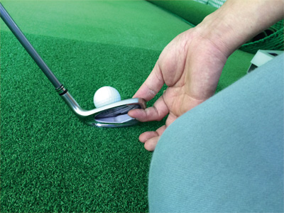 ゴルフレッスンと整体施術